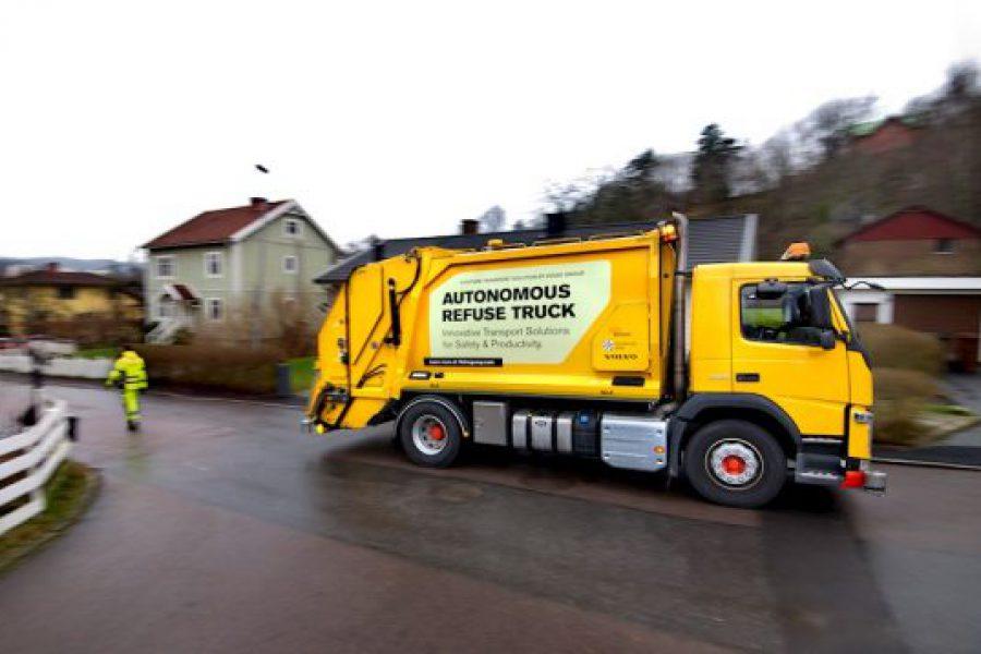 Volvo Trucks και Renova κάνουν δοκιμές του αυτόνομου απορριμματοφόρου